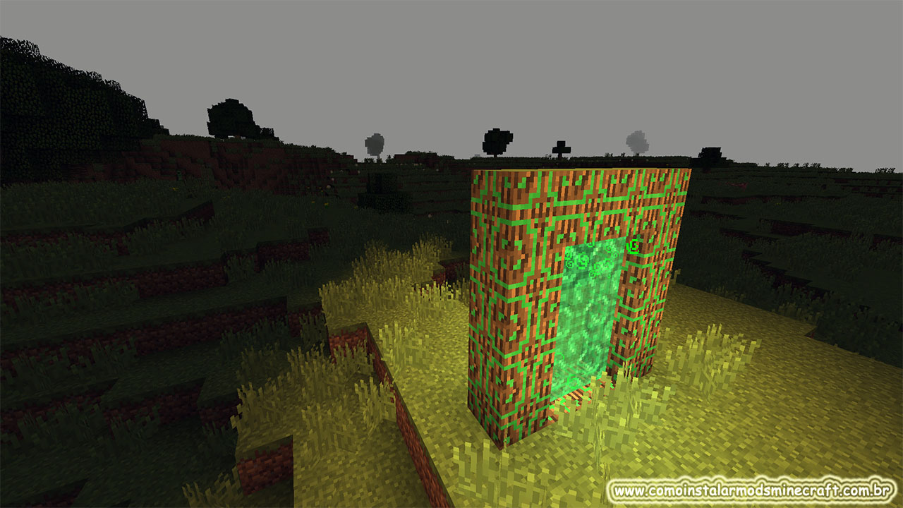 Hunting Dimension Mod 1.12.2 | Como Instalar Mods No ...
