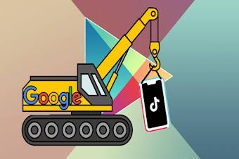 تقارير: جوجل تحذف ملايين التقييمات السلبية لـ Tik Tok على بلاي ستور