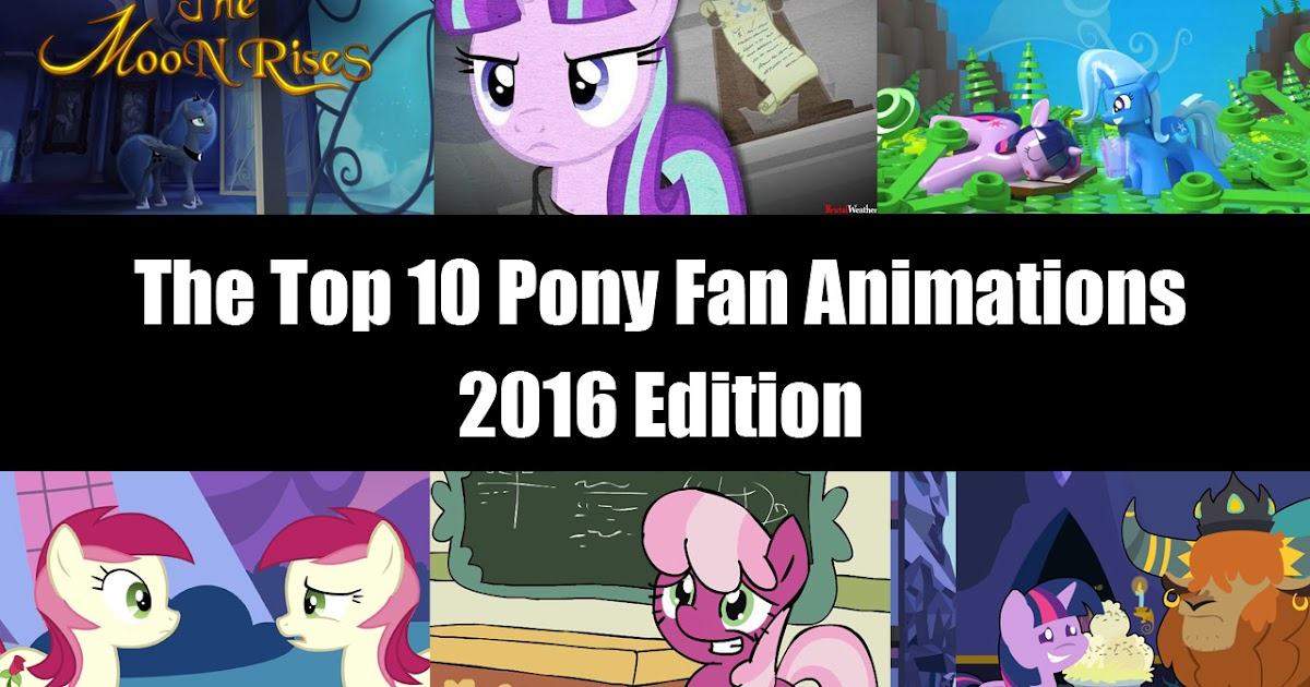 The Top 10 Pony Videos of January 2017 - YouTube