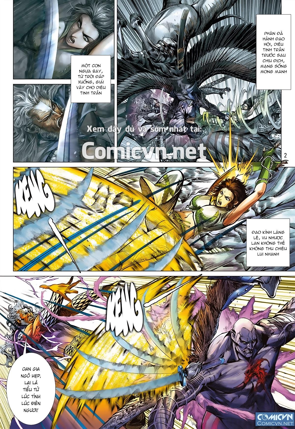 Sơn Hải Nghịch Chiến Chap 94 - Trang 2