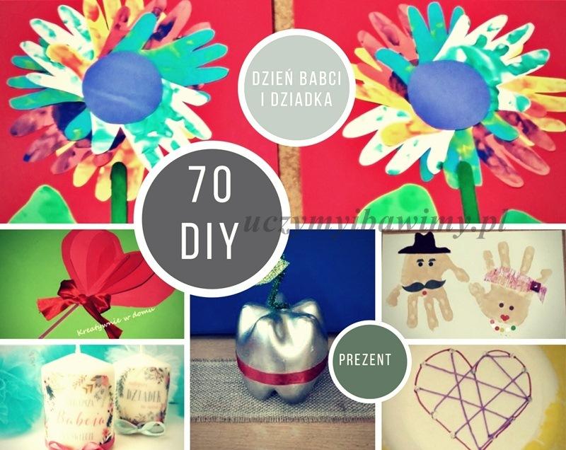 diy prezenty z okazji dnia babcia i dziadka - 70 pomysłów