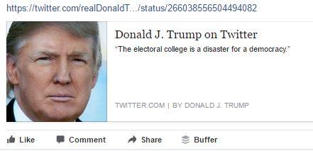 The Corrupt, Undemocratic Electoral College Process, Elections