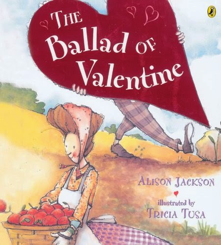 The Ballad of Valentine, part of children's book review list about Valentine's Day