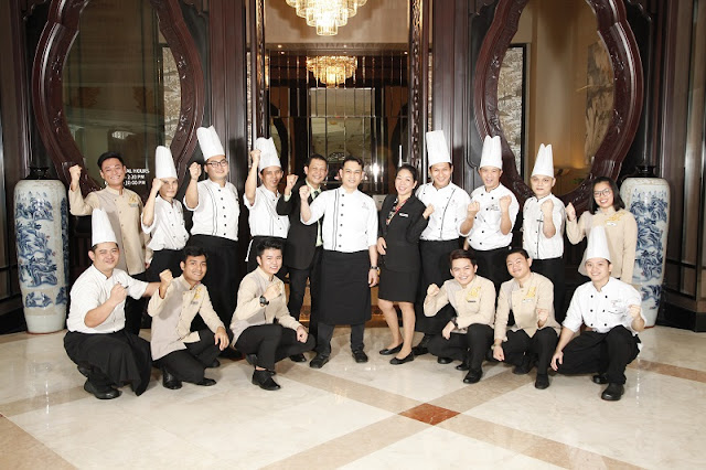MIGF 2018 - Summer Palace Marriott Putrajaya Chef Team
