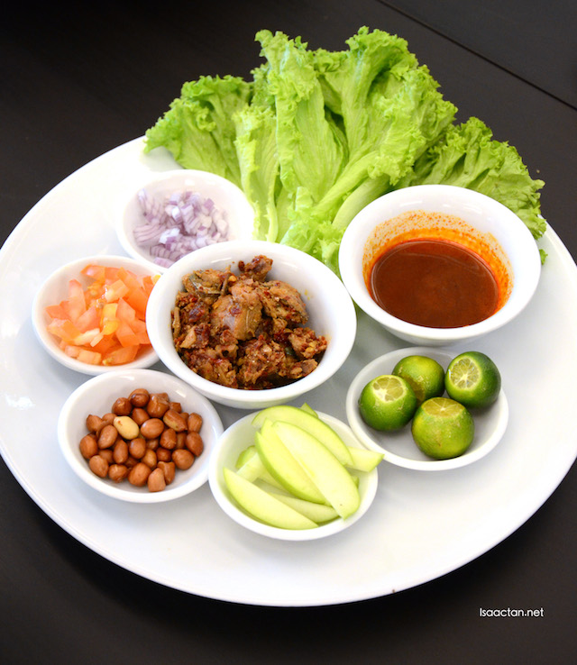 Sambal Fish Salad