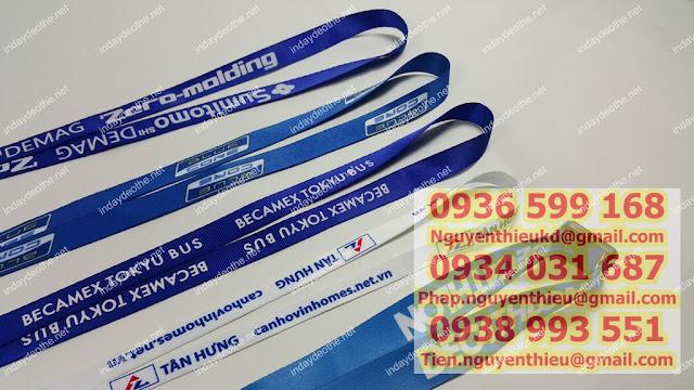 Nhà cung cấp dây đeo thẻ, dây đeo thẻ giá sỉ hcm, nơi cung cấp dây đeo thẻ uy tín chất lượng giá rẻ,