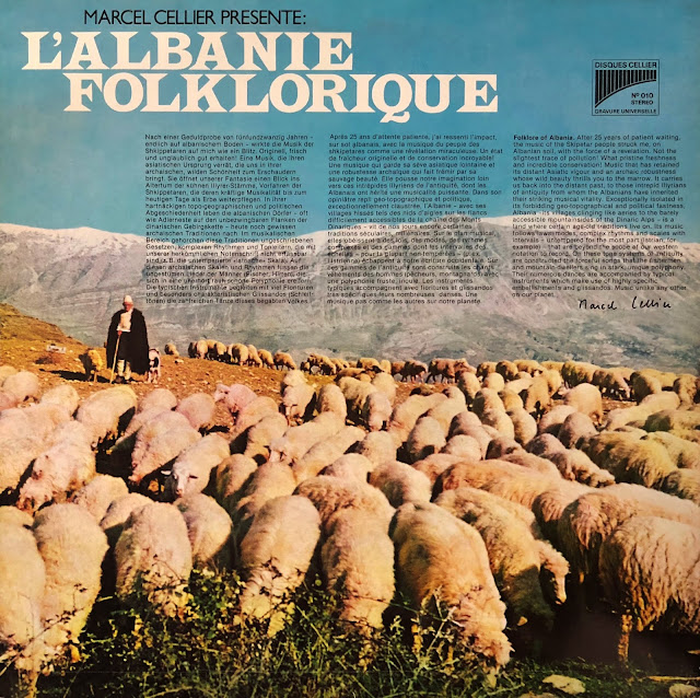 #Albania #Albanie #traditional #folk #music #cifteli #polyphonic voices #pastoral #clarinet #bagpipes #flute #violins #vinyl #traditional music #world music #albanian music #musique traditionnelle #musique du monde #MusicRepublic #Marcel Cellier