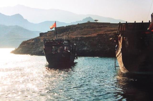 السياحة البحرية  المقومات السياحية في محافظة #مسندم