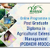 Post Graduate Diploma in Agricultural Extension Management, PGDAEM-MOOCs | MANAGE Hyderabad