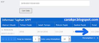 pbb online surabaya