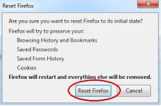 Cara Termudah Reset Browser