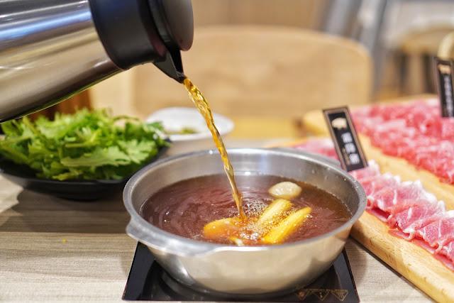 台南北區美食【富士匠鍋物】餐點介紹-桔香壽喜鍋