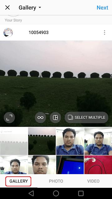 Cara Mengupload/Mengunggah Foto Ukuran Penuh di Instagram tanpa Memotong 3