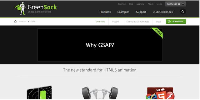 GSAP 12 Tools  Membuat Efek Animasi Andalan Dengan HTML 5