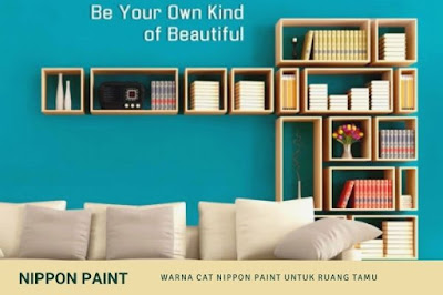 Warna Cat Nippon Paint Untuk Ruang Tamu
