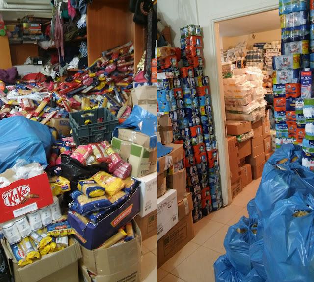 Παράδοση αγαθών πρώτης ανάγκης στο κοινωνικό παντοπωλείο του Δήμου Μάνδρας από τον Δήμο Άργους Μυκηνών