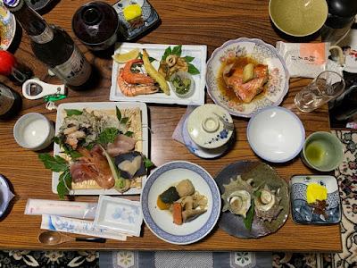 清水屋の夕食