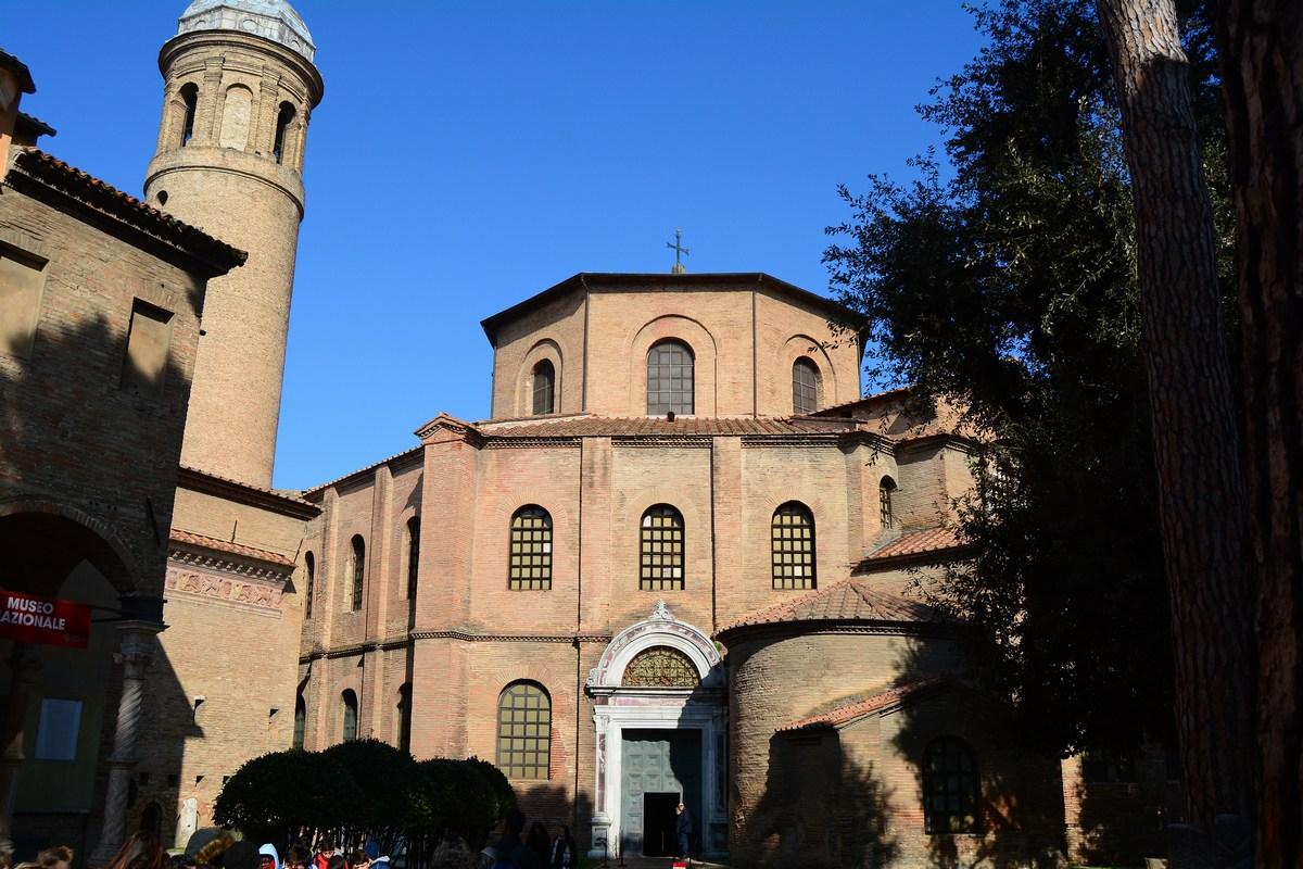 extérieur basilique Saint-Vital Ravenne