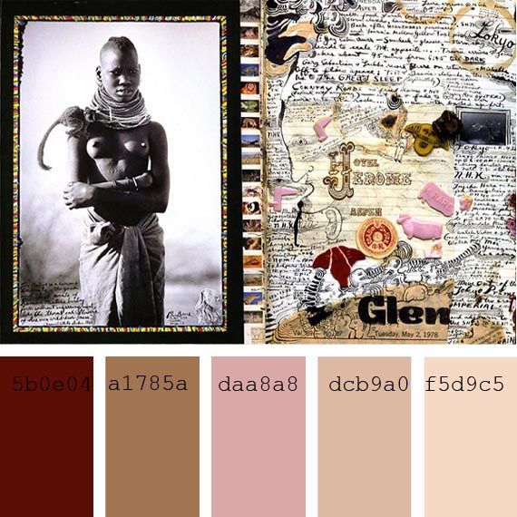 peter beard photos, #PantoneColor of the day, lion #ColorPalette