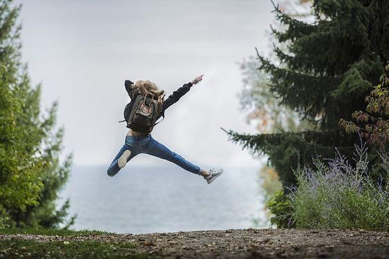 Bahagia, gunung, self-love