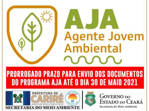 SEMA avisa que o prazo para o envio dos documentos do programa AJA está prorrogado até o dia 30 de maio
