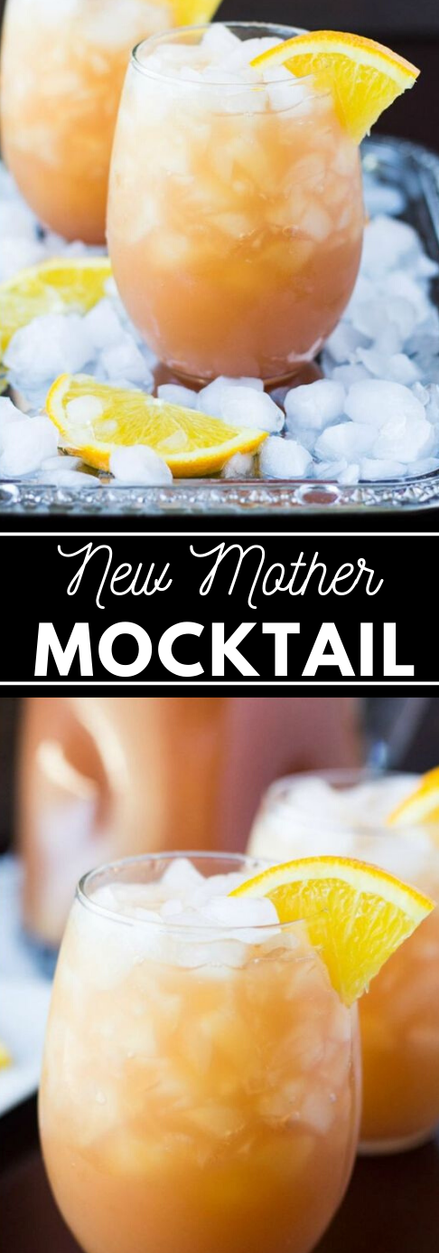 New Mother Mocktail  #cocktail #drink #party #summer #sangria
