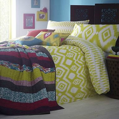 Domestic sluttery bargain bedding the saving on this duvet is as juicy as its colour this ikat style pattern comes from the star by julien macdonald range at debenhams its now 25 gumiabroncs Image collections