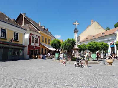 Plaza principal de Szentendre