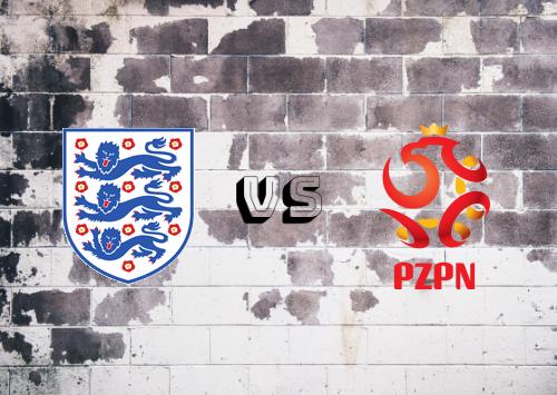 Inglaterra vs Polonia  Resumen y Partido Completo