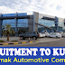 Automak Automotive Company - Required Staff to Kuwait