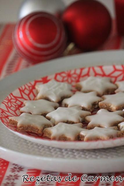 Galletas alemanas de navidad: Zimtsterne
