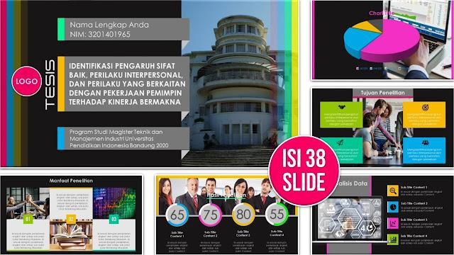 Contoh Slide PPT yang Bagus untuk Sidang Tesis