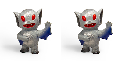 Designer Con 2018 Exclusive Night Flight Bat Boy Vinyl Figure by Super7