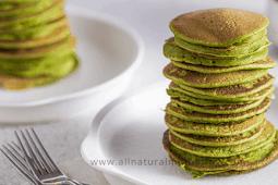 Simply Green Baby Spinach Banana Pancakes Recipe
