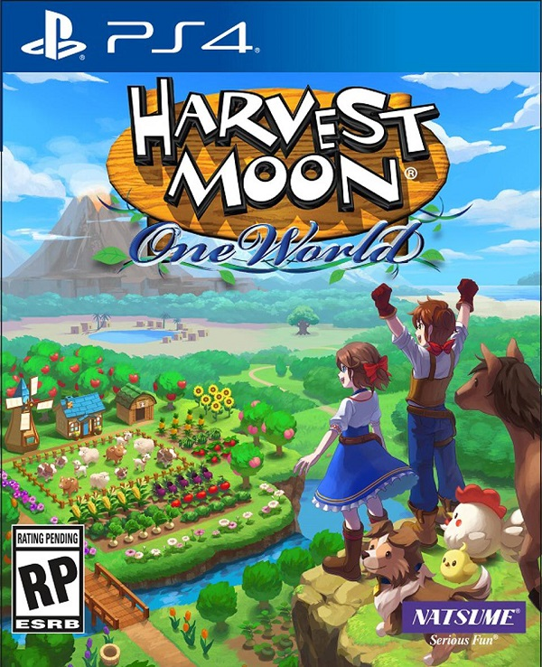Harvest Moon One World PS4 Game Cover