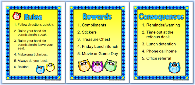 Classroom Reward Ideas Elementary ~ Pics for gt elementary classroom rules and consequences