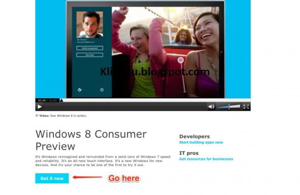Jika anda sudah mempunyai Windows 8, anda bisa mengikuti langkah ...