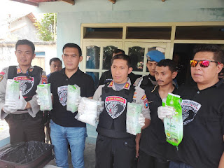 Tim Cobra Polres Lumajang Ungkap Sabu 5  Kg Jaringan Sokobana-Sampang