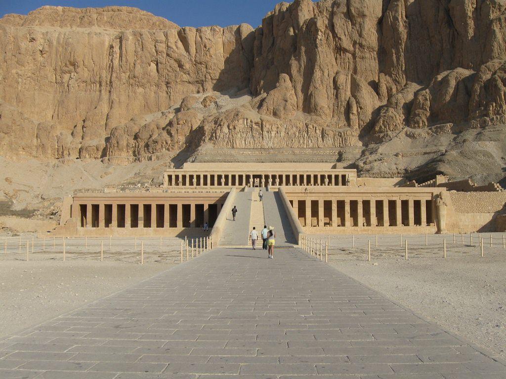 Templo de Hatshepsut Deir El-Bahari