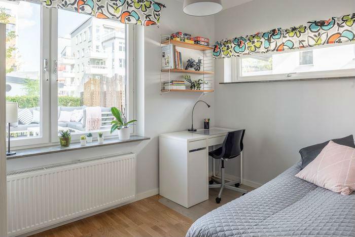 Dormitorio juvenil con muebles de IKEA
