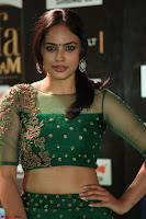 Nandita Swetha in a tight Green Choli Ghagra at IIFA Utsavam Awards March 2017 ~ 060.JPG