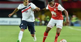 Cerro Porteño vs Independiente Santa Fe en Copa Sudamericana 2016