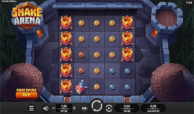 Ulasan Slot Relax Gaming Indonesia - Snake Arena Slot Online