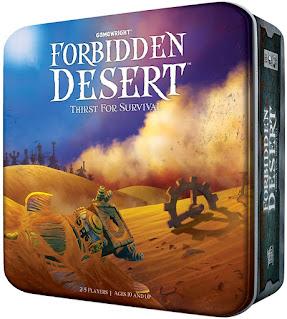 Opiniones del juego de mesa el desierto prohibido