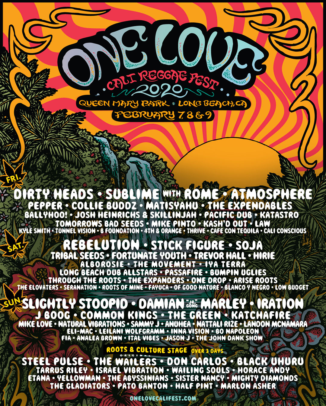 Don't Miss The One Love Cali Reggae Fest - February 7-9!