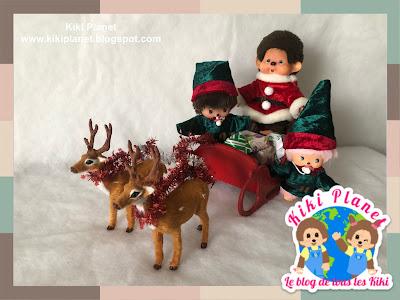 kiki Monchhichi Christmas story contes noël