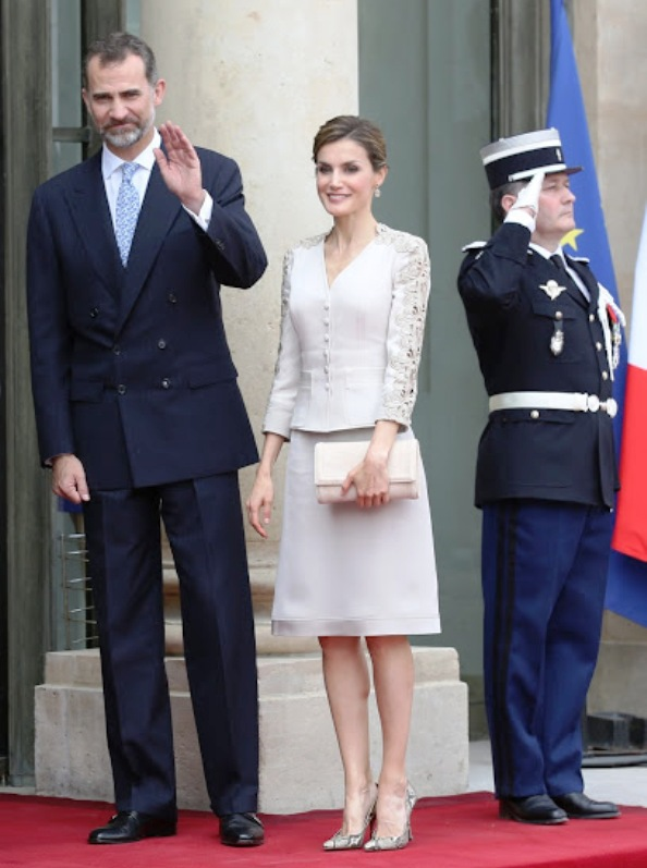 King Felipe And Queen Letizia On official Visit To France, Day 1