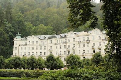 Курортное кино: «Отель Гранд Будапешт». Grandhotel Pupp, Карловы Вары, Чехия