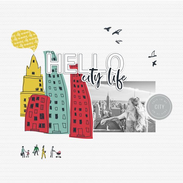 hello city life © sylvia • sro 2019 • city life by dunia designs