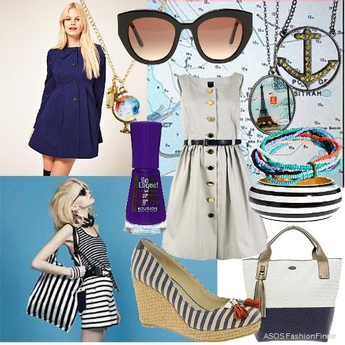Bet on nautical style to be very glamorous in this summer!!